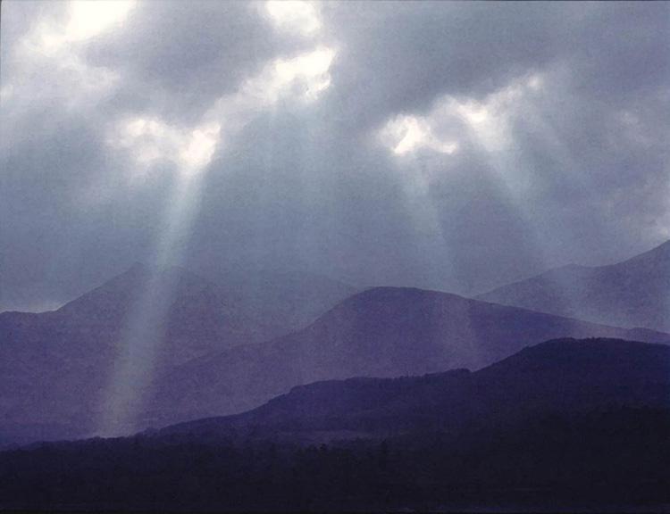 Sunbeams over Derwent