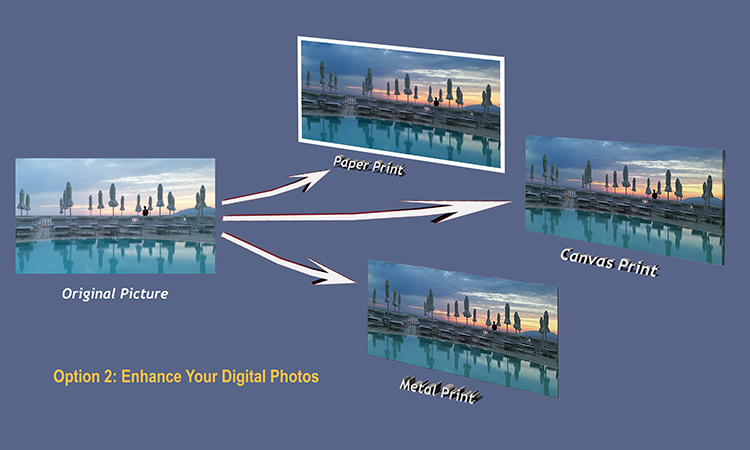 Option 2 - Enhance your Digital Photos