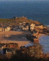 St Ives in Morning Light