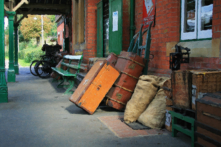 Horstead Keynes Station