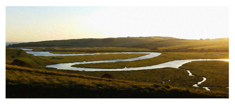 The Meandering River