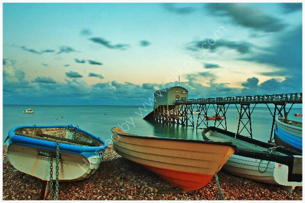 Selsey Lifeboat Station and boats