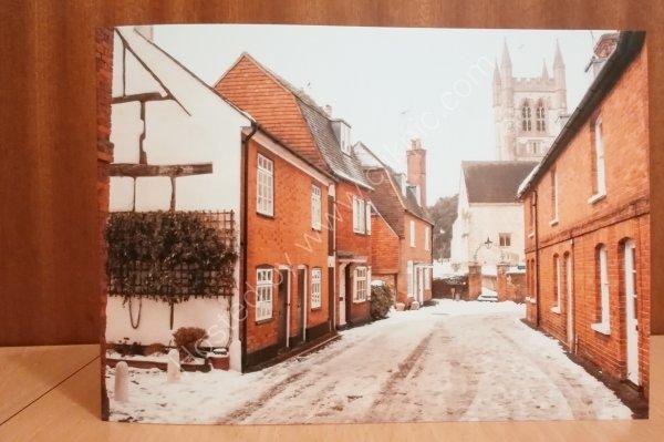 Lower Church Lane greeting card