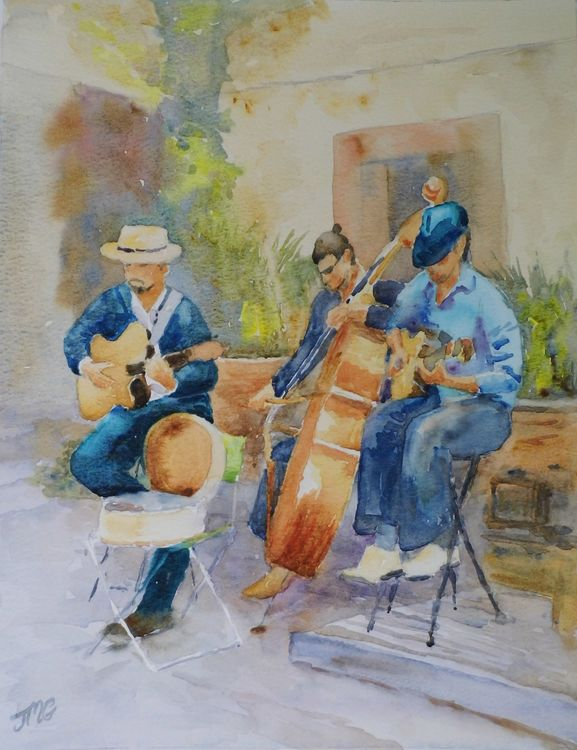 Street Musicians, Provence
