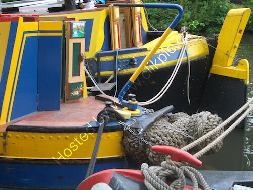 BWB motor boat and butty at Rickmansworth