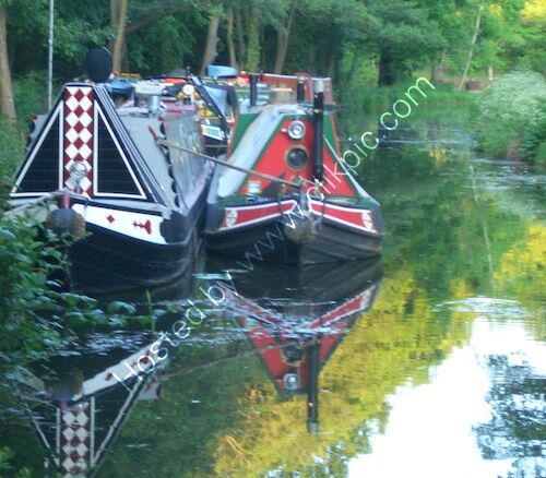 brookwood boat rally, basingstoke canal