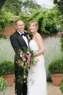 Claire and Tim,Coughton Court
