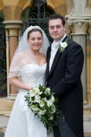 Nick and Thea,Ettington Park Hotel