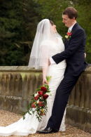 Helen and Graham,Wroxall Abbey Estate