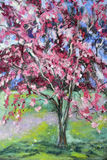 CRAB APPLE SPRING  PASTEL