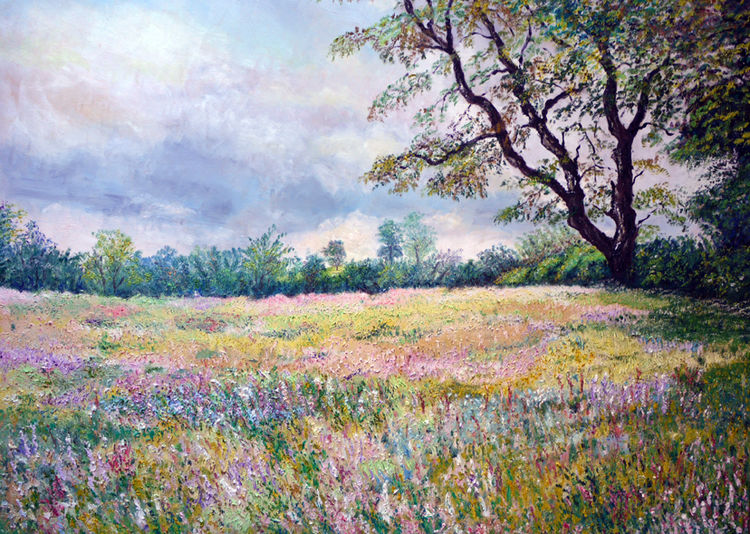 """SUMMER MEADOWS"" OIL"