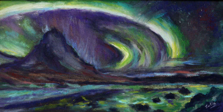 THE NORTHERN LIGHTS 2  PASTEL