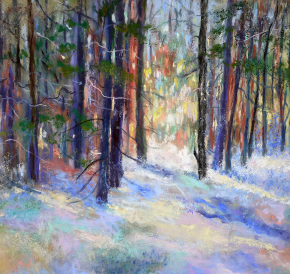 """THE FOREST"" - WINTER LIGHT"
