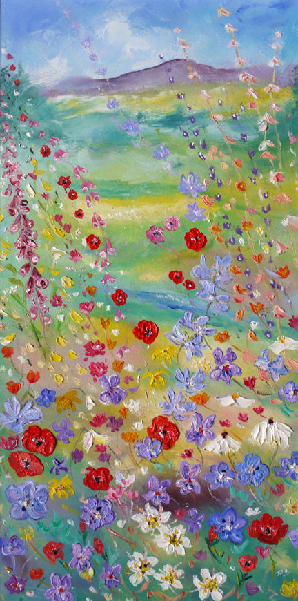 """"""" FLOWERS IN THE DALES - UP UP AND AWAY"""""""