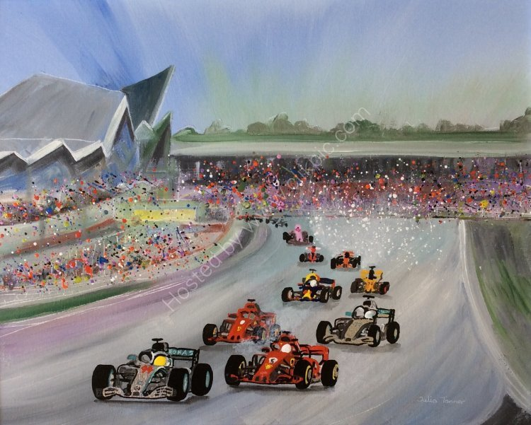 The British Grand Prix - PRINTS AVAILABLE
