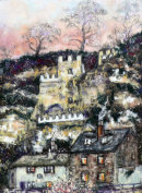 winter 100 years ago - the house in rock knaresborough