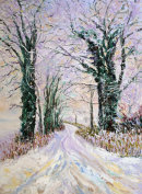 COLOURS OF WINTER -OIL
