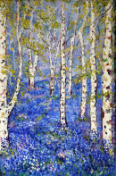 """""""SILVER BIRCH WITH BLUEBELL AVENUE """""""