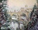 Winter- Suprise View Knaresborough- pastel