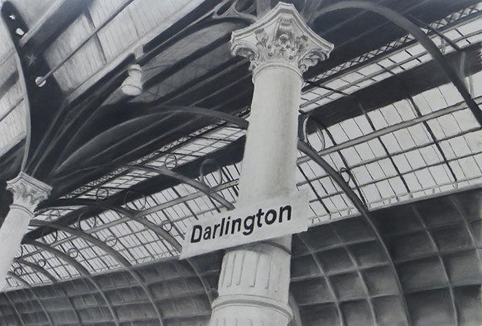 Darlington Station, Julie Macbean, Artist in Residence