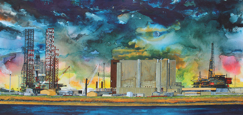 Hartlepool Power Station, Julie Macbean, from source to sea, Edgelands