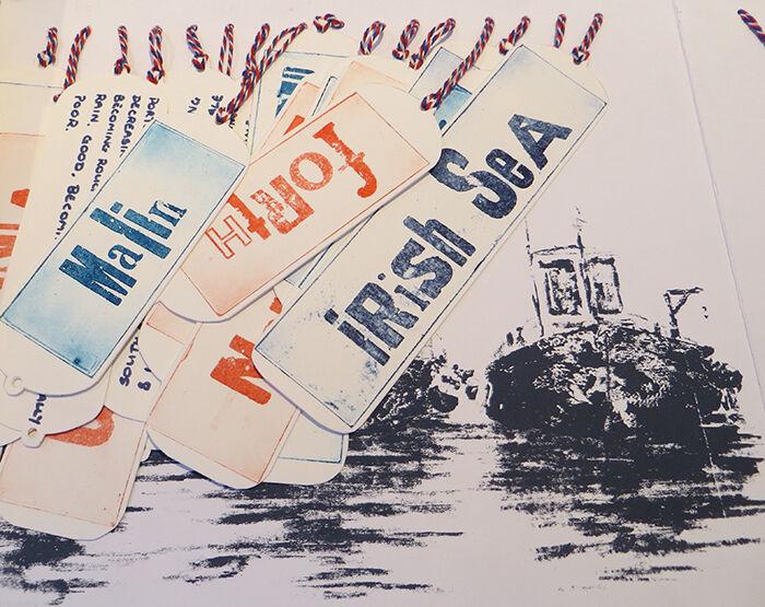 shipping Forecast, Artist books, Julie Macbean