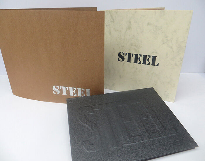 Steel, Artist Books, Julie Macbean