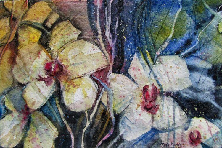Pale Orchids