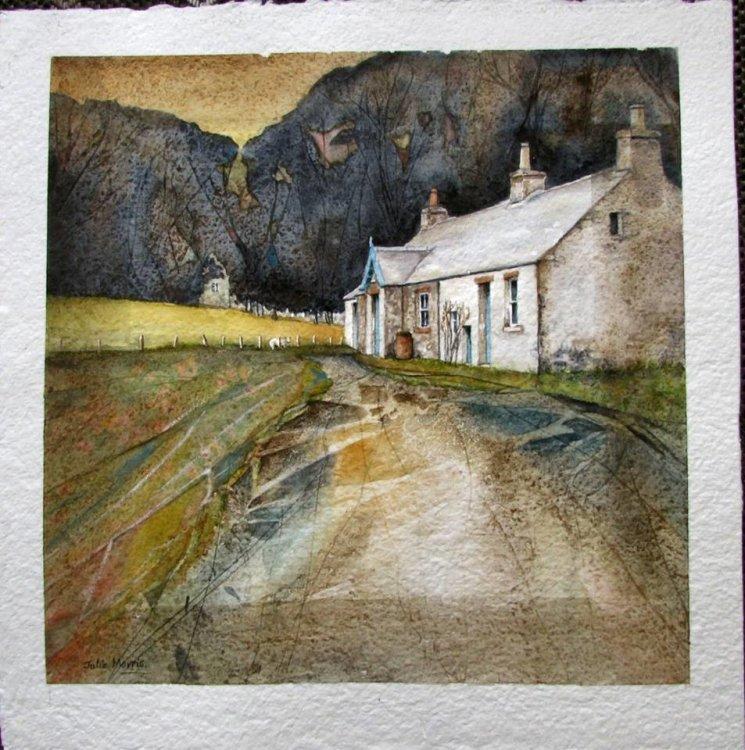 Black Dwarf Cottage, Peebles.
