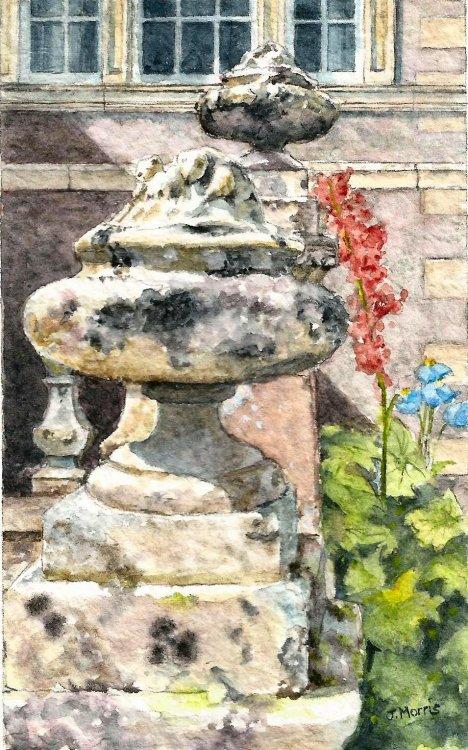 Bowhill. Garden Decor.