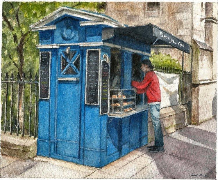 Canongate Cafe, Edinburgh.