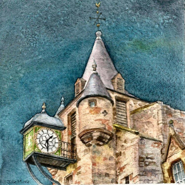 The Old Tolbooth, Edinburgh.
