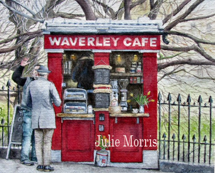 Waverley Cafe, Edinburgh.