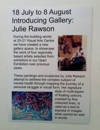 First solo exhibition at 20-21