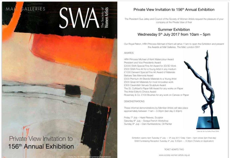 SWA Summer Exhibition 2017.