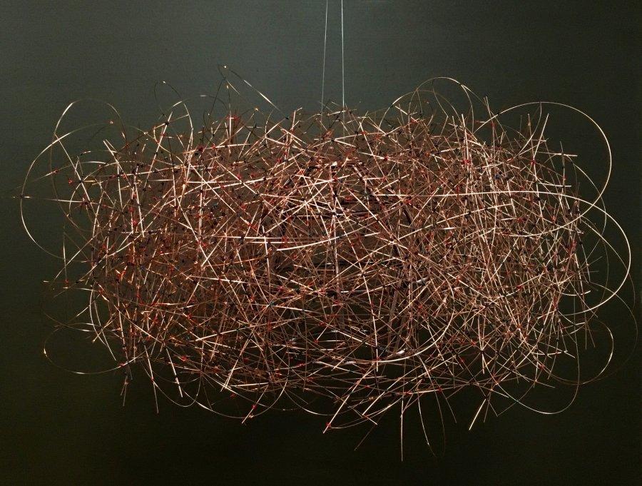 Julierawson commission for a birds nest chandelier commission for a birds nest chandelier mozeypictures Images