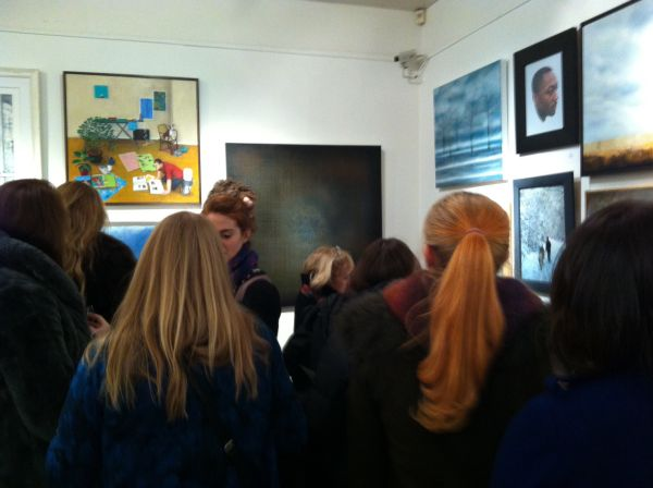 Cork Street Winter Open Exhibition, Mayfair, London. 2013