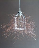 Up cycled YOBO pendent light