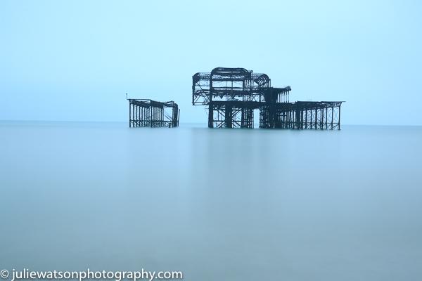 Brighton derelict pier 0542