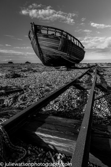 Rails and boat dungenessIMG 83521