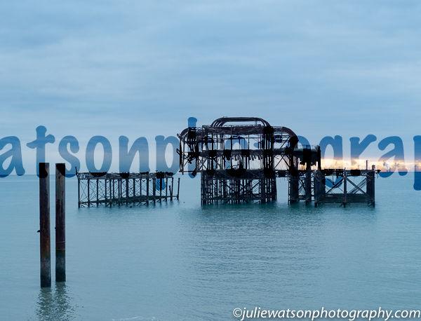 brighton derelict pier