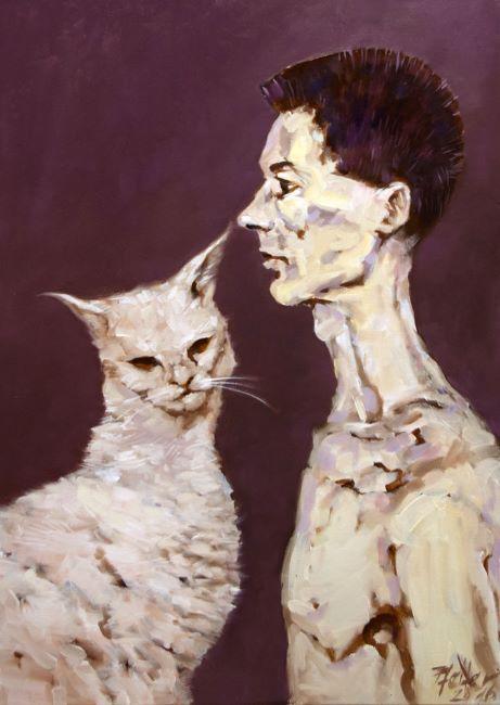Pesnikov mladostni portret-Andrej Lutman