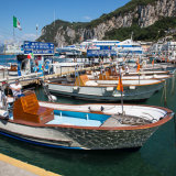 Boats in the harbour - Capri