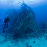Stern of the Giannis D Wreck - Red Sea