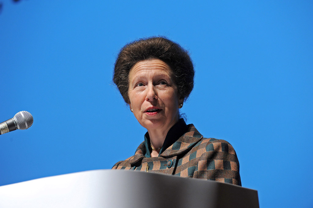 Anne, Princess Royal addressing the Conference, Citizens Advice