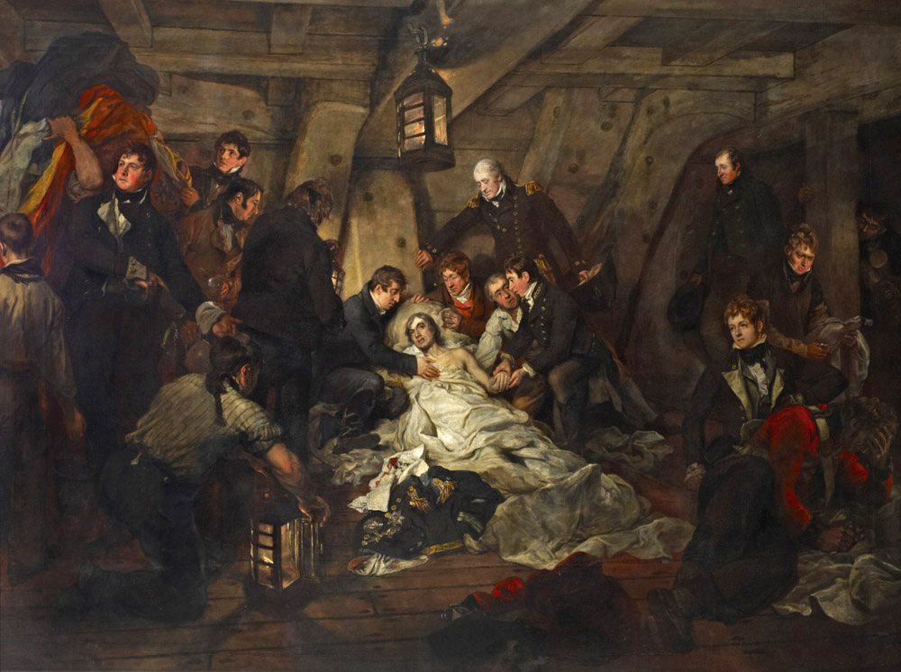 Death of Nelson, from the Royal Maritime Collection