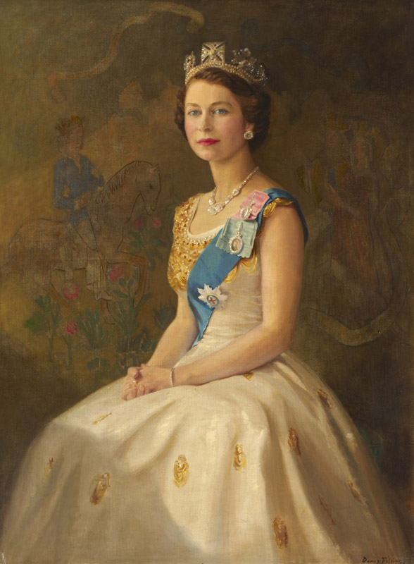 Queen Elizabeth II, photography for Public Catalogue Foundation