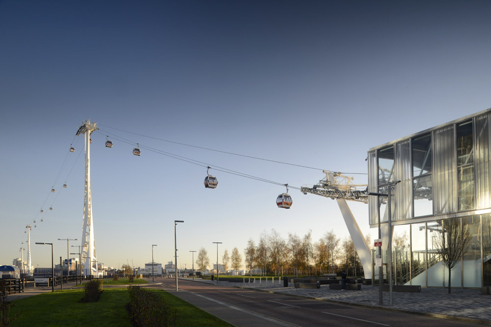 Emirates Cable Car London, Wilkinson Eyre