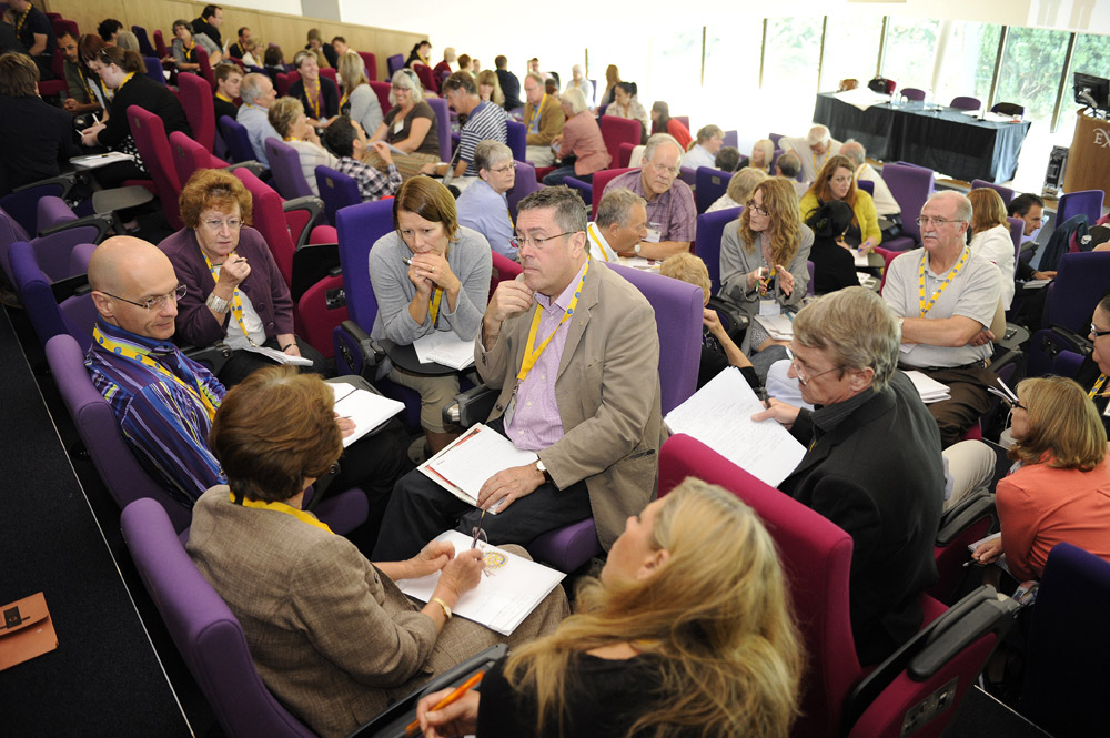Citizens Advice Conference, Workshop in Lecture Theatre Exeter University