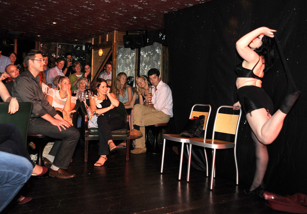 Earls Court Burlesque at Miss Qs